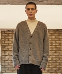 로얄위() DEER WOOL CARDIGAN GREY