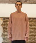 로얄위() MOCK NECK WOOL KNIT PINK