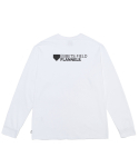 이벳필드() ORIGINAL LOGO POCKET LONG SLEEVE WHITE