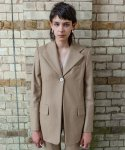 벨리에(BELIER) Wool 1 Button Jacket / Beige