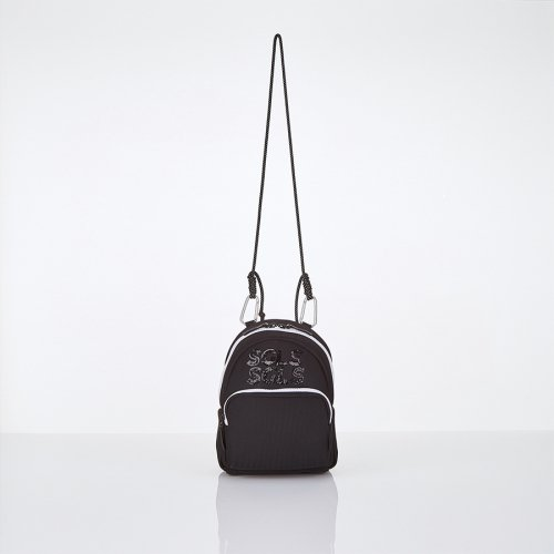 스트레치 엔젤스(STRETCH ANGELS) [L.P.Y] SGLS spangle 2way sling-bag (Black)