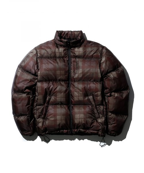 에스피오나지(ESPIONAGE) Elbert Puffer Down Jacket Black Watch