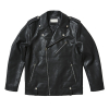 ECO LEATHER RIDER JACKET BLACK VG3JK903