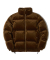 위캔더스(WKNDRS) VELVET DOWN JACKET (BROWN)