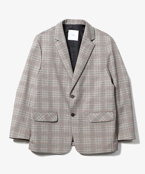 제로(XERO) Glen Check Two Burton Jacket [Beige]