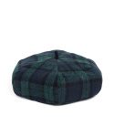 와일드 브릭스(WILD BRICKS) WOOL BLACK WATCH BERET (green)