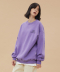 MEGENNY SWEATSHIRT v1_LIGHT PURPLE