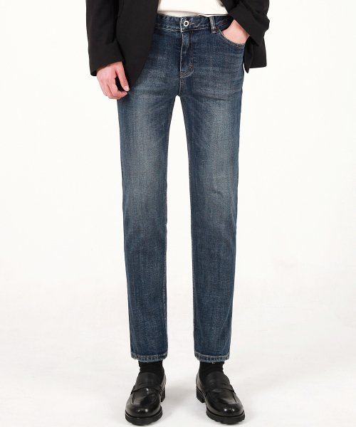 모디파이드(MODIFIED) M#1666 ambition grey slim jeans