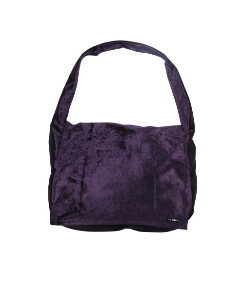 아조바이아조 오리지널 라벨(AJOBYAJO ORIGINAL LABEL) Velvet Messenger Bag [Purple]