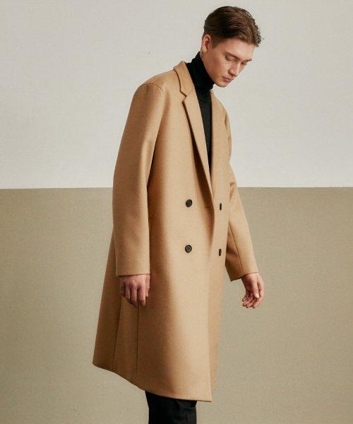 a12eea89b10 인사일런스(INSILENCE) CASHMERE LONG DOUBLE COAT (beige) - 139,000원 ...