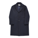 비슬로우 스탠다드(BESLOW STANDARD) 18FW STANDARD SINGLE COAT NAVY