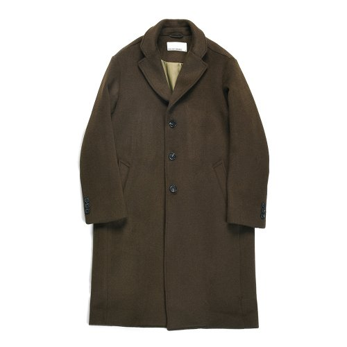 비슬로우 스탠다드(BESLOW STANDARD) 18FW STANDARD SINGLE COAT OLIVE