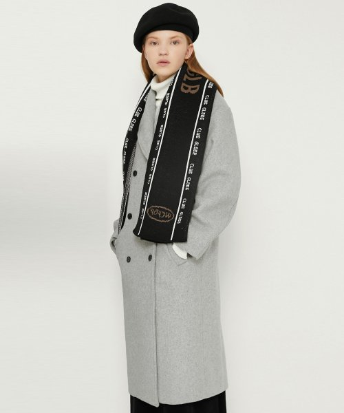 매치글로브(MATCHGLOBE) MG8F DOUBLE WOOL COAT (GRAY)