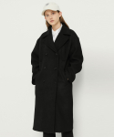 매치글로브() MG8F DOUBLE WOOL COAT (BLACK)