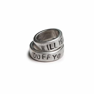 윌리앤더피(WILLIE and DUFFY) Custom Stamp Ring (Thick ver.) (실버925) (핸드메이드)