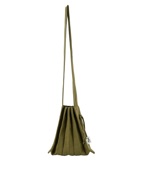 조셉앤스테이시(JOSEPH&STACEY) Lucky Pleats Knit Crossbag S Olive