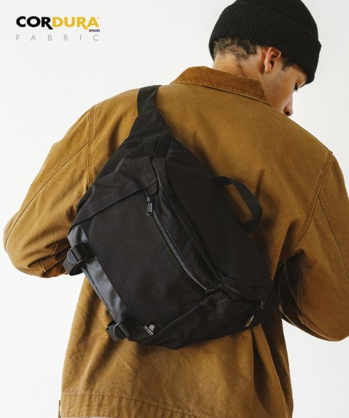 디얼스(THE EARTH) WASHED CORDURA 12L WAIST BAG - BLACK