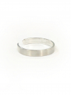 45 Simple Band Silver Ring