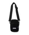드라이프(DRIFE) FLEECE MINI CROSS BAG - BLACK