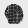 18FW MIXED CHECK SHIRT (BLACK)