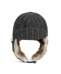 와일드 브릭스(WILD BRICKS) HERRINGBONE TRAPPER HAT(grey)