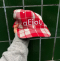 A/C / Aeiou Cap (F size) Warm Red Check