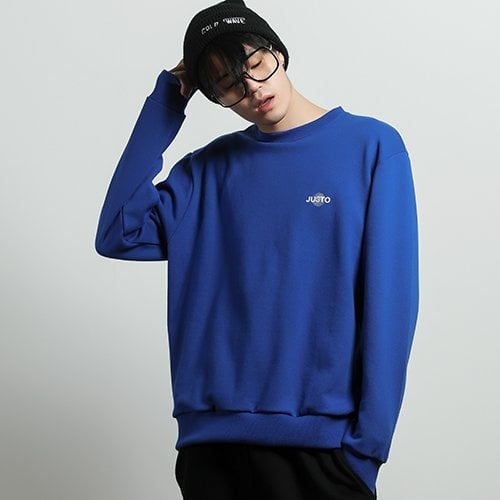 주스토(JUSTO) illusion sweat shirt[blue]