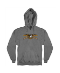 안티히어로(ANTI HERO) EAGLE Pullover Hooded Sweatshirt - GUNMETAL HEATHER
