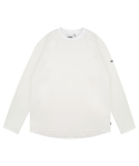 트라이투톡() T38F FLEECE CUTTING POINT TEE (IVORY)