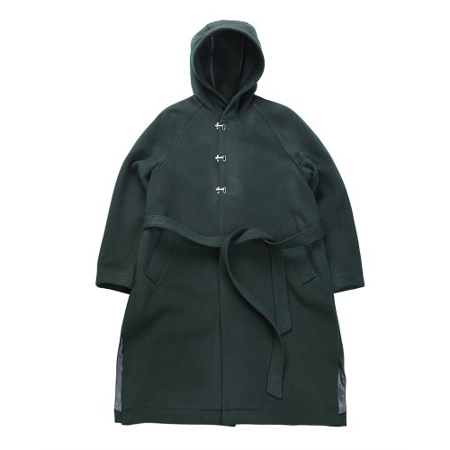 비슬로우 퍼플(BESLOW PURPLE) 18FW VENTI WIZARD COAT DEEP GREEN