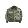 비슬로우 퍼플(BESLOW PURPLE) 18FW AVIATOR JACKET OLIVE