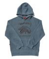 TOME.5 PIGMENT NAVY HOODIE