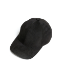 인사일런스() [IN SILENCE X GEAR3] ULTRA SUEDE BALL CAP (black)