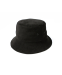 인사일런스() [IN SILENCE X GEAR3] ULTRA SUEDE BUCKET HAT (black)