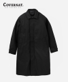 C/P TWILL MAC COAT BLACK