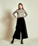 더케이스토리(THEKSTORY) Corduroy Wide Pants_ Black