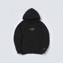 폴카폴카(POLKA POLKA) SML Sign Hood Black