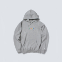 폴카폴카(POLKA POLKA) SML Sign Hood Grey