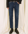 M#1698 napping washed slim denim