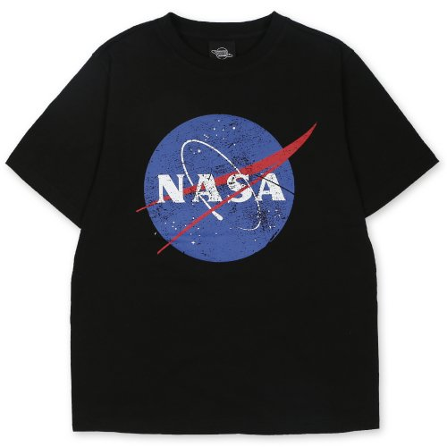 시에로(SIERO) NASA Circle Logo Tee (SF2TSU001BK)