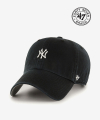 NY Small Logo Base Runner 47 CLEAN UP Black