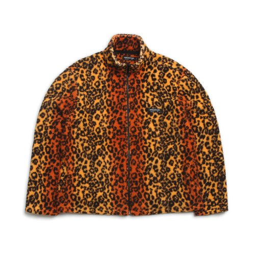 어피스오브케이크(APOC) Basic Fleece Jacket_Leopard