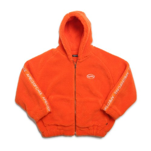 어피스오브케이크(APOC) Dumble Hoodie Jacket_Orange