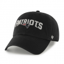 47브랜드() NEW ENGLAND PATRIOTS BLACK SCRIPT 47 CLEAN UP