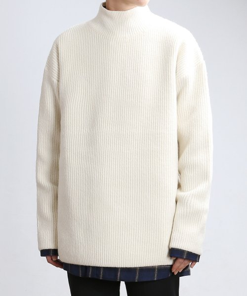 쟈니웨스트(JHONNY WEST) Soft Lambs Turtleneck (Cream)