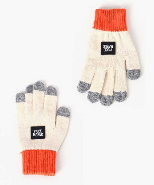 피스메이커(PIECE MAKER) OG COLORS SMART GLOVES (BEIGE)