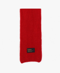 피스메이커() LAMBSWOOL 100 KNIT MUFFLER (RED)