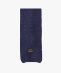 피스메이커() LAMBSWOOL 100 KNIT MUFFLER (NAVY)