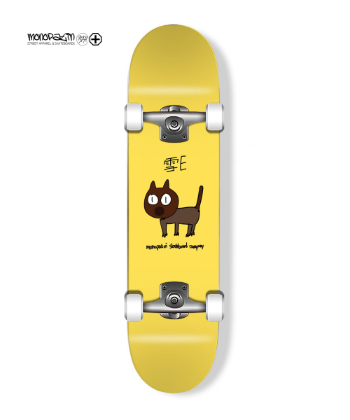 "모노파틴(MONOPATIN) ""snow-e"" signature complete skateboard"
