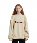 챈스챈스(CHANCECHANCE) CHANCE SWEATSHIRT(Ivory/기모)